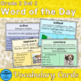 Vocabulary Cards Grade 3 Sets 1 - 3 Plus Games and Activities Packet