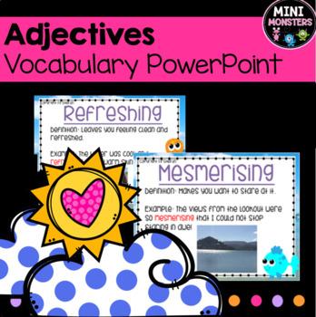 Vocab - Adjectives