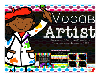 Vocab Artist: Strategies & Activities Focusing on Vocabulary