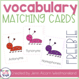 Vocabulary Bugs for Speech Therapy