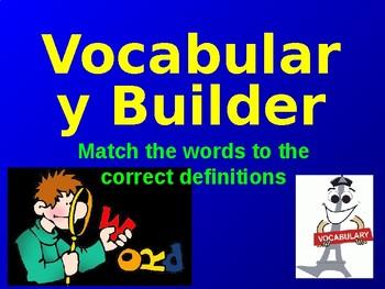 Vocab Builder for Advanced Students