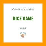 Vocab Dice Game (in Italian and English)