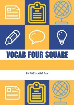 Vocab Four Square
