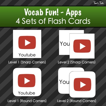 Vocab Fun! - Apps: Flash Cards, Vocabulary List + Test, Games and MORE!