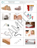 Health and Medicine: Vocabulary Game Picture and Word Card
