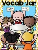 Vocab Jar for Comprehension Centers