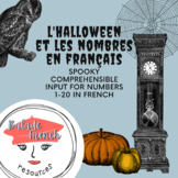 French Numbers | Comprehensible Input Lesson | Halloween