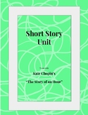 "Vocab, Lit Elements, and Writing Prompts for ""Story of an Hour"""