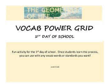 Vocab Power Grid