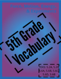 Vocab Puzzle Force Motion Energy & Experiments ENGLISH AND