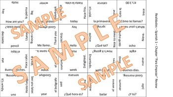 Vocab Puzzle - dinner foods, healthy choices