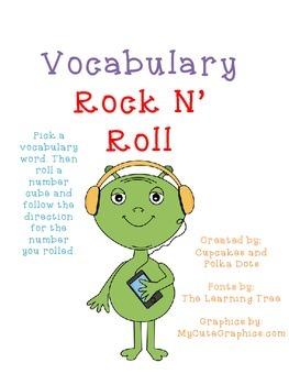 Vocab Rock N Roll