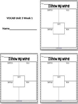 Vocab Squares
