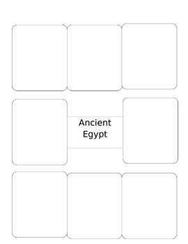 Vocab Squares for Ancient Egypt