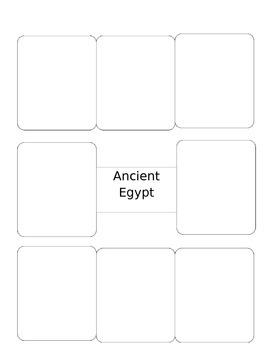 Vocab Squares for Ancient Egypt