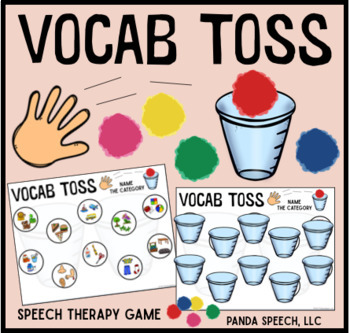 Vocab Toss for Speech Therapy