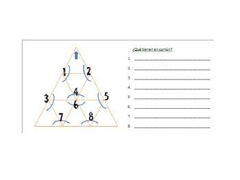Vocab Triangle Puzzle