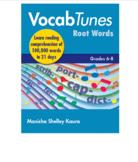 Vocab Tunes English Vocabulary Building & Comprehension Program 6th to 8th Grade