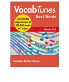 Vocab Tunes English Vocabulary Building & Comprehension Program K to 2nd Grade