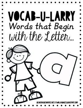Vocab-U-Larry Dictionary