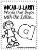 Vocab-U-Larry Dictionary