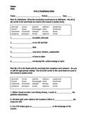 Vocab Workshop Level D - Unit 4 Quiz