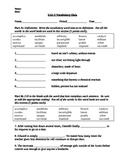 Vocab Workshop Level D - Unit 5 Quiz