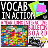 Vocab in Action! Interactive Bulletin Board