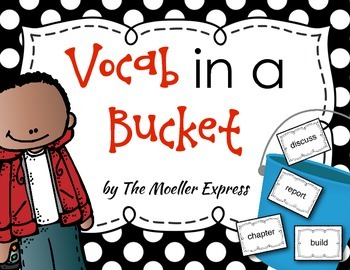 Vocab in a bucket - Vocabulary Game