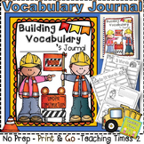 Vocabulary Journals-Build it Up