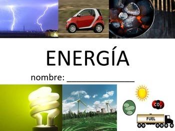 Vocabuario de la Energía - Energy Vocabulary (Spanish)