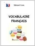 Vocabulaire Français, French Immersion (#189)