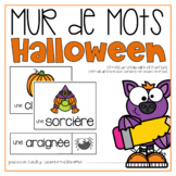 Vocabulaire Halloween {FRENCH Halloween Word Wall}