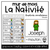 Vocabulaire Nativité {FRENCH Nativity Word Wall}