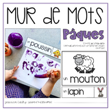 Vocabulaire Pâques {FRENCH Easter Word Wall}
