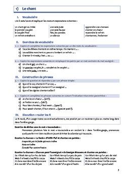 Vocabulaire, construction de phrases, élocution, orthographe - Niveau 2 Série 1