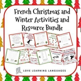 Noël et le Vocabulaire d'Hiver BUNDLE - French Christmas a