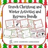 Noël et le Vocabulaire d'Hiver BUNDLE - French Christmas a