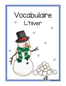 Vocabulaire de l'hiver, de Noël et de la St-Valentin