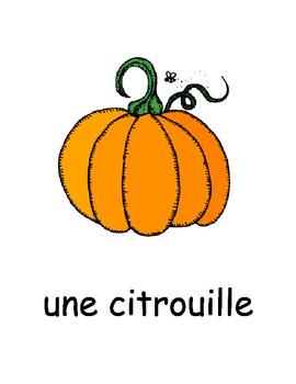 Vocabulaire de l'Halloween