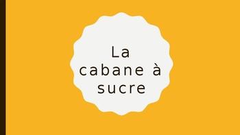 Vocabulaire de la cabane à sucre