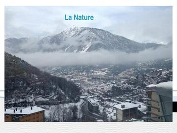 Vocabulaire de la nature en français!