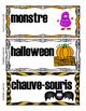 Vocabulaire halloween