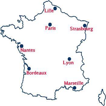 Vocabulaire : la météo et les villes de France