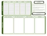 Vocabulaire organisateur graphique Vocabulary Graphic Organizer