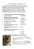 Vocabulaire vocabulary french quiz francais ART cinema musique peinture ....AP