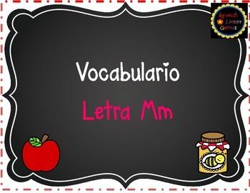 Vocabulario Letra Mm