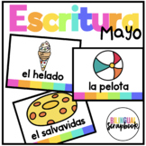 Vocabulario Mayo (Vocabulary Cards for May in Spanish)