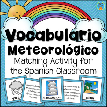 Vocabulario Meteorológico - Weather Vocabulary in Spanish