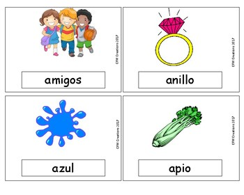 Vocabulario con A